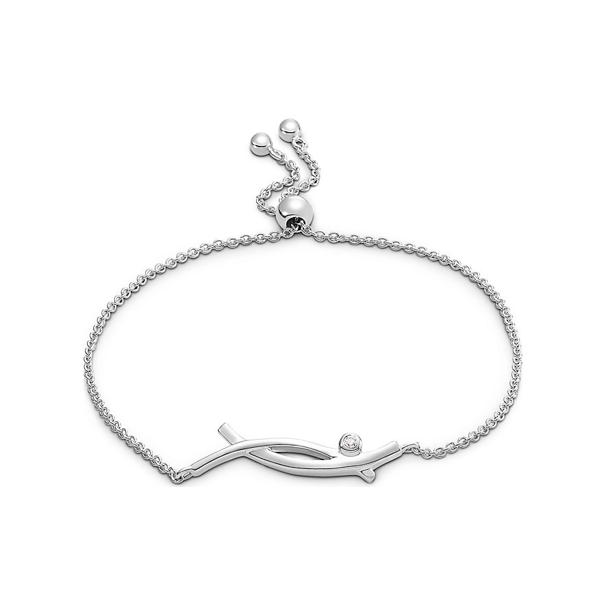 CHRIST Silver Diamonds Armband 87523632