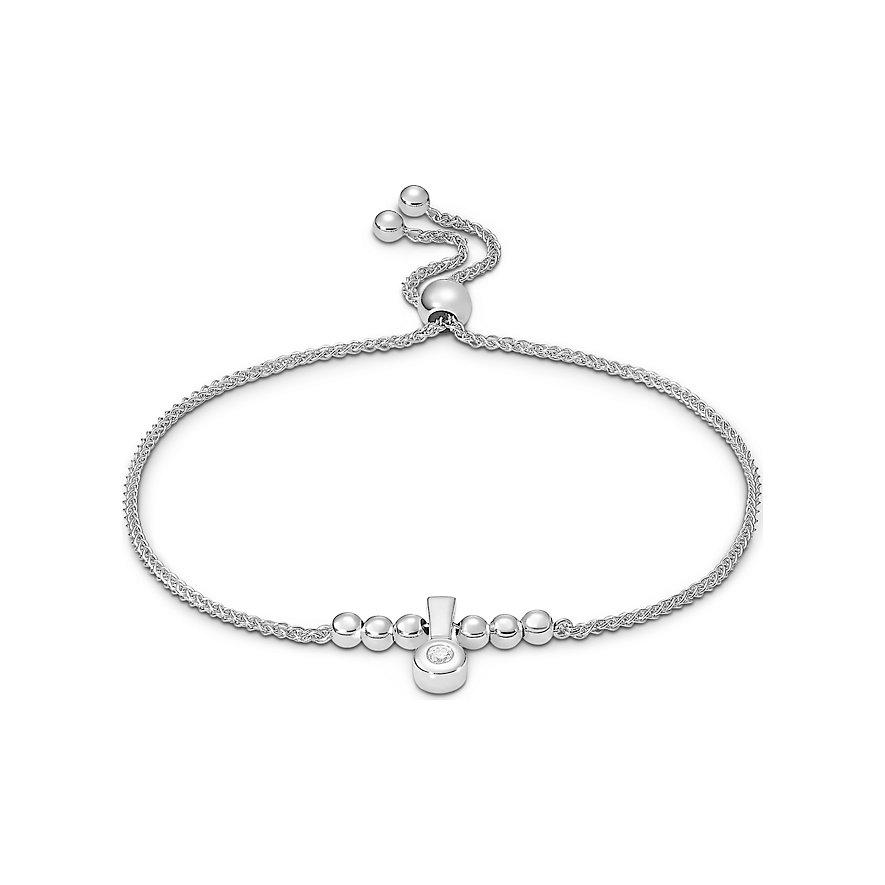 CHRIST Silver Diamonds Armband 87532101