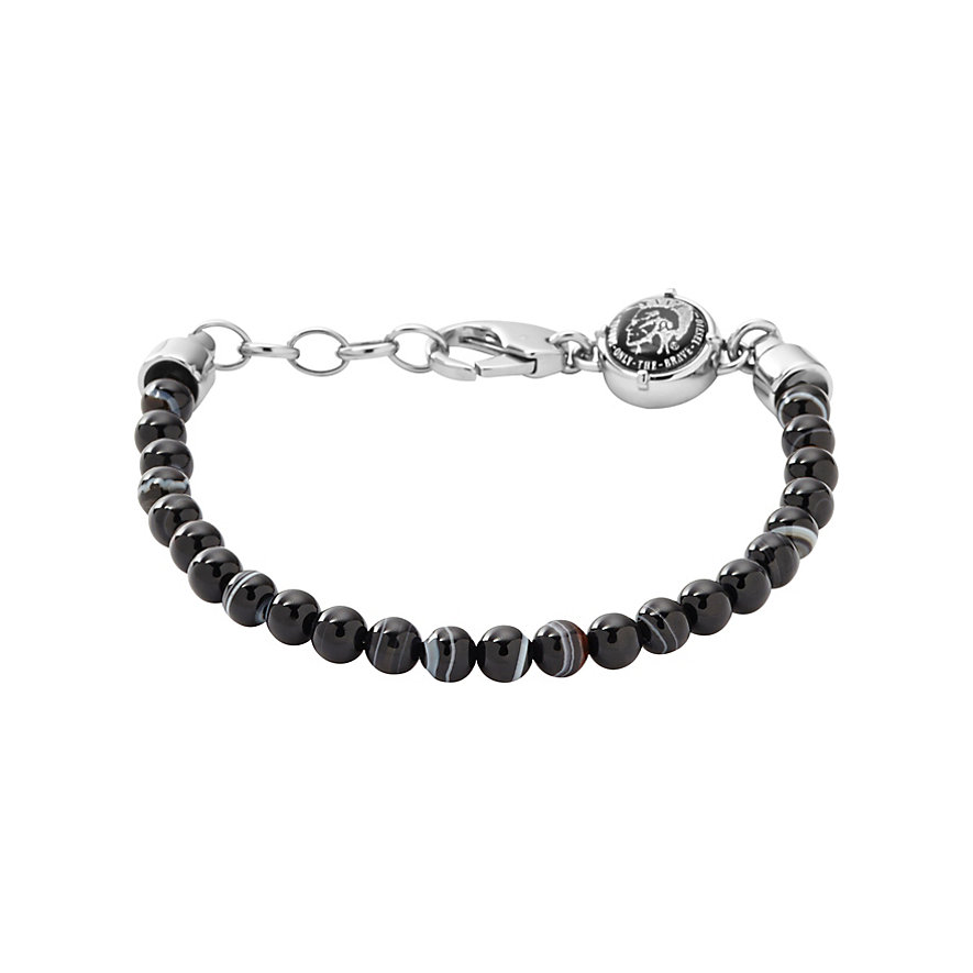 Diesel Herrenarmband Beaded Studs DX0848040