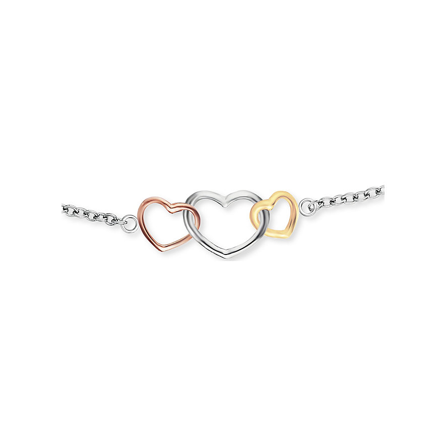 Engelsrufer Armband With Love 3 Hearts