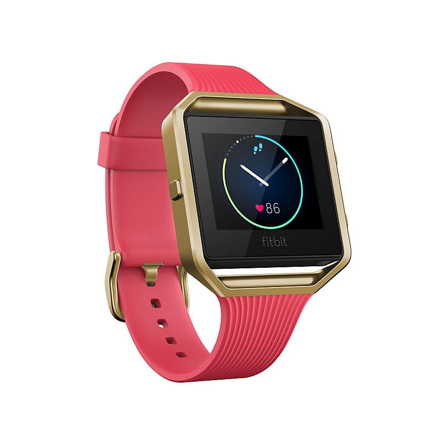 Fitbit Fitnessarmband Blaze Pink & Gold 40-29-1353