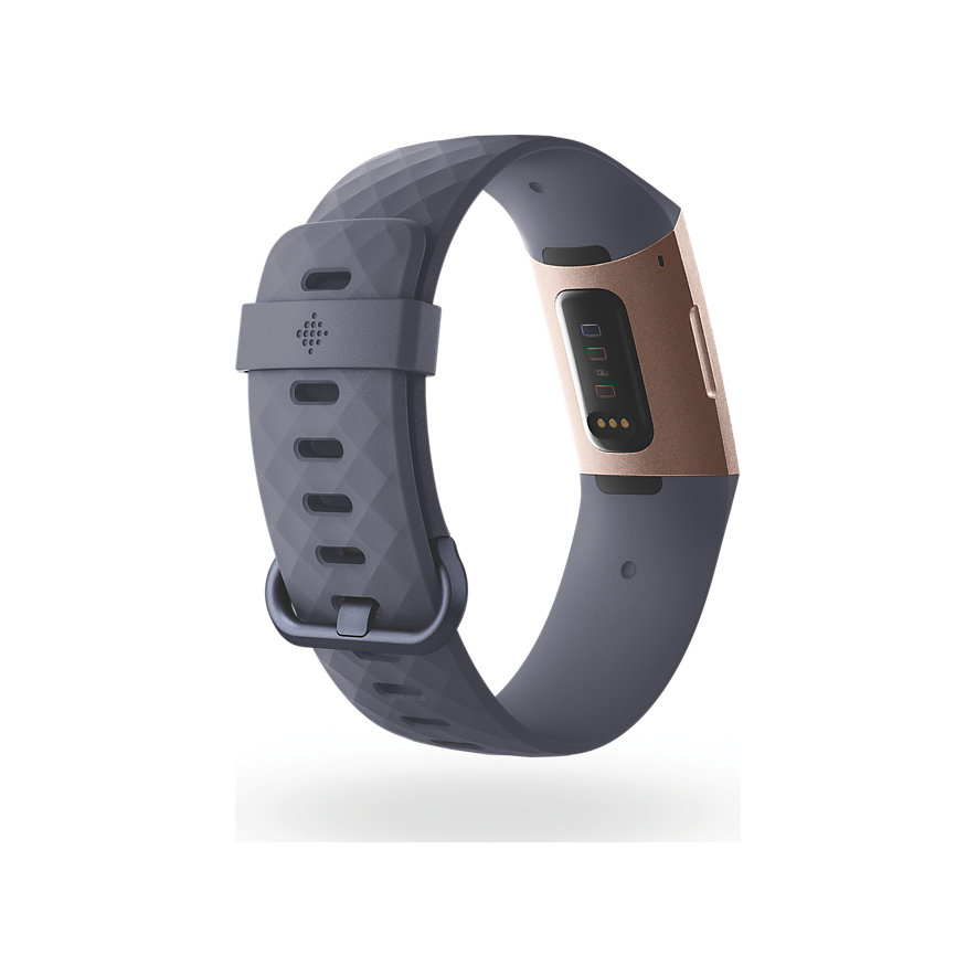 Fitbit Fitnessarmband Charge 3 FB409RGGY-EU