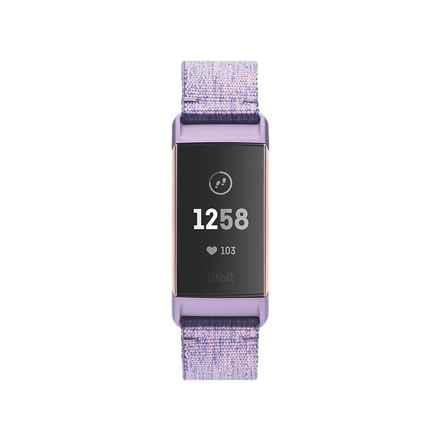Fitbit Fitnessarmband Charge 3 FB410RGLV-EU