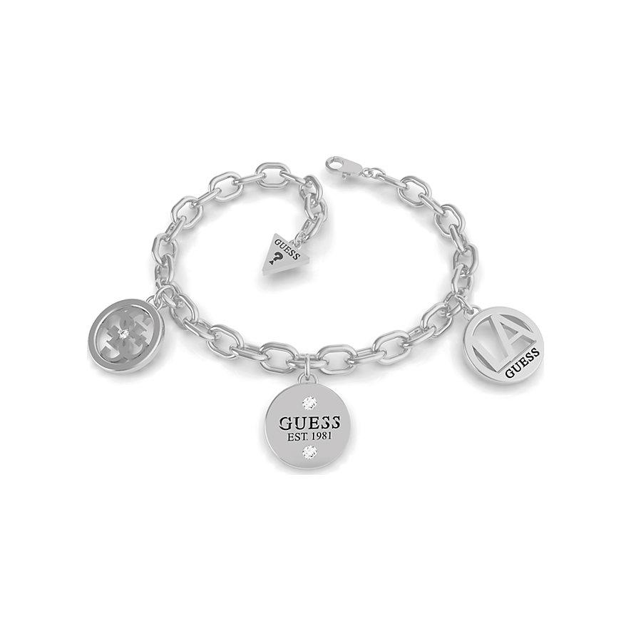 Guess Armband 4g La Crystal Charms Br