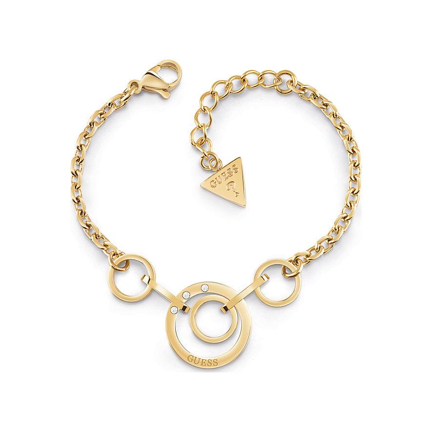 Guess Armband Chain Circles UBB29028-S