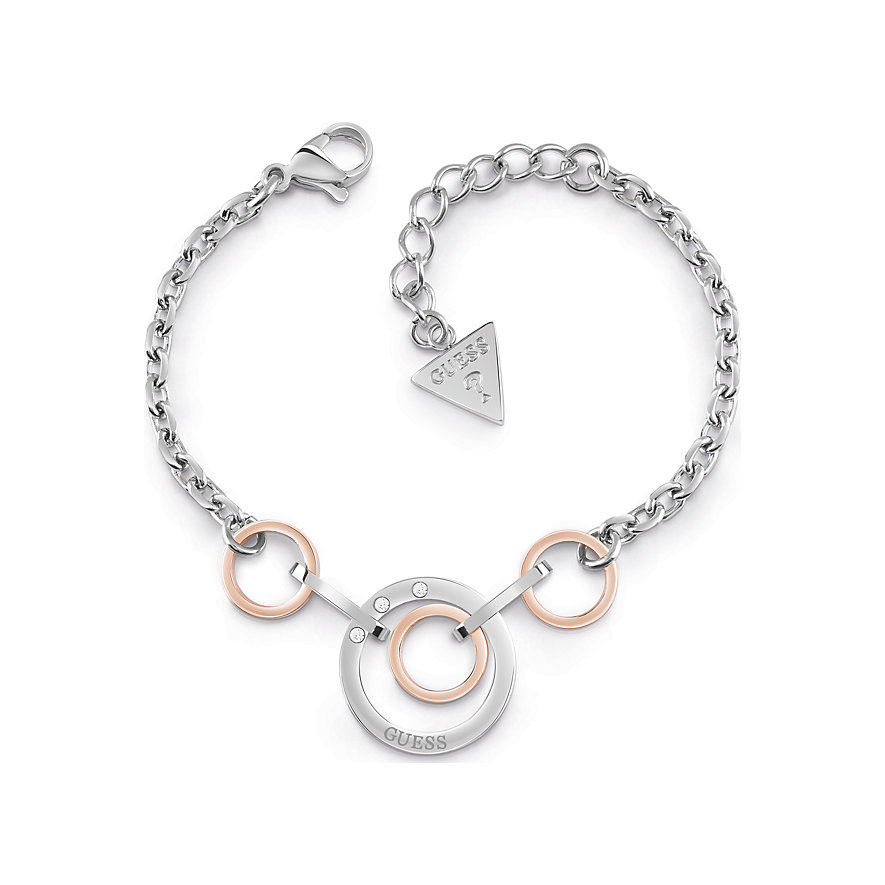 Guess Armband Chain Circles UBB29030-S