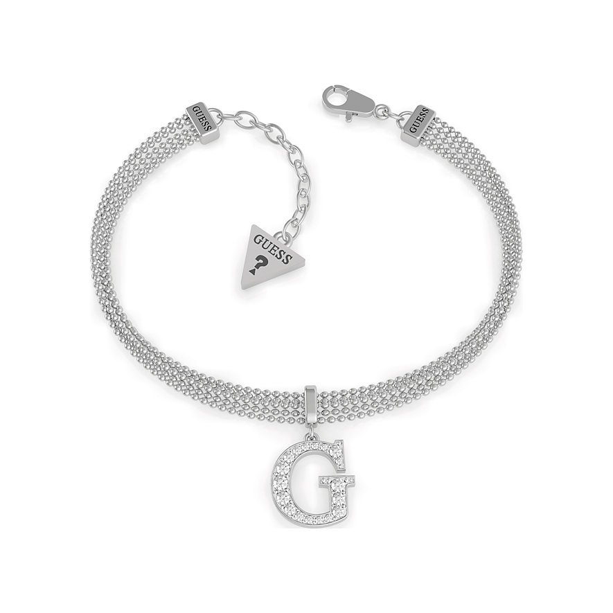 Guess Armband G Round Pave M Chain Br