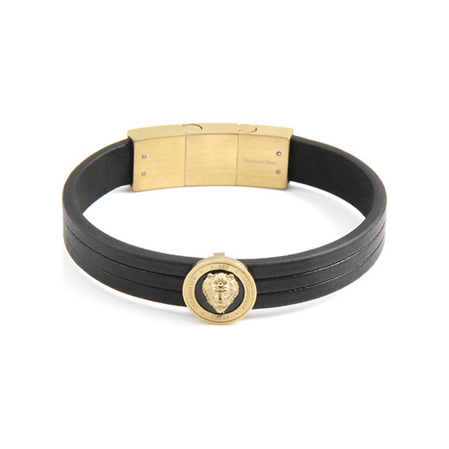 Guess Armband Gold & Black Lion UMB20015