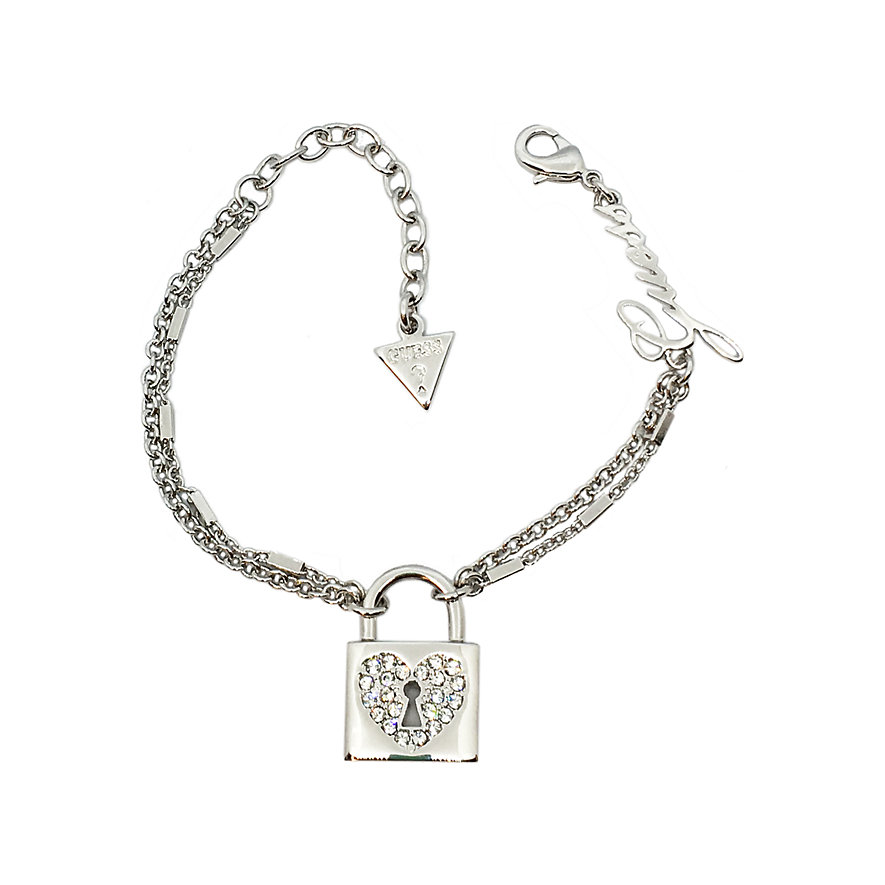 Guess Armband Heart Lock JUBB85116JW