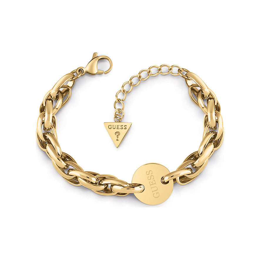 Guess Armband Oval Chain Coin UBB29032-S