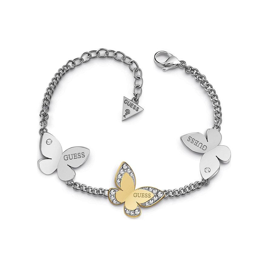 Guess Armband Three Butterfly JUBB78054JW