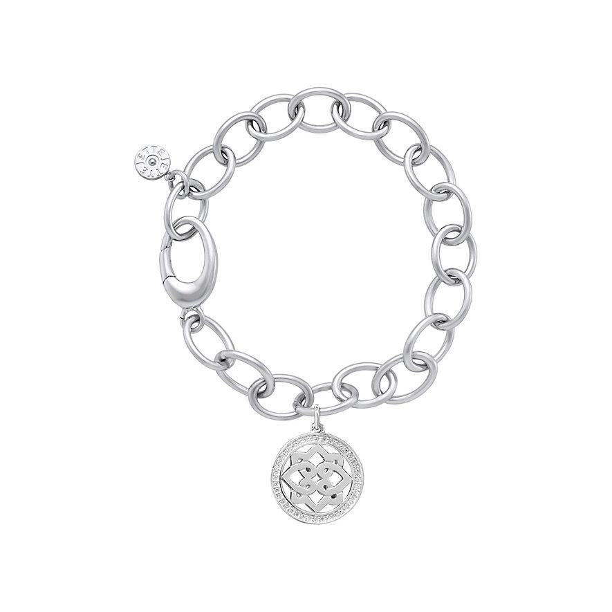 JETTE Silver Armband Chakra