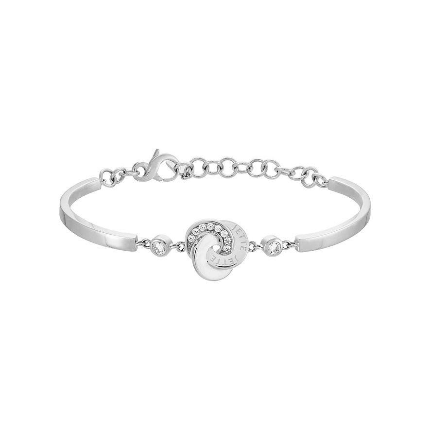JETTE Silver Armband Circles 86914956