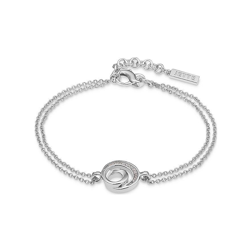 JETTE Silver Armband Dot