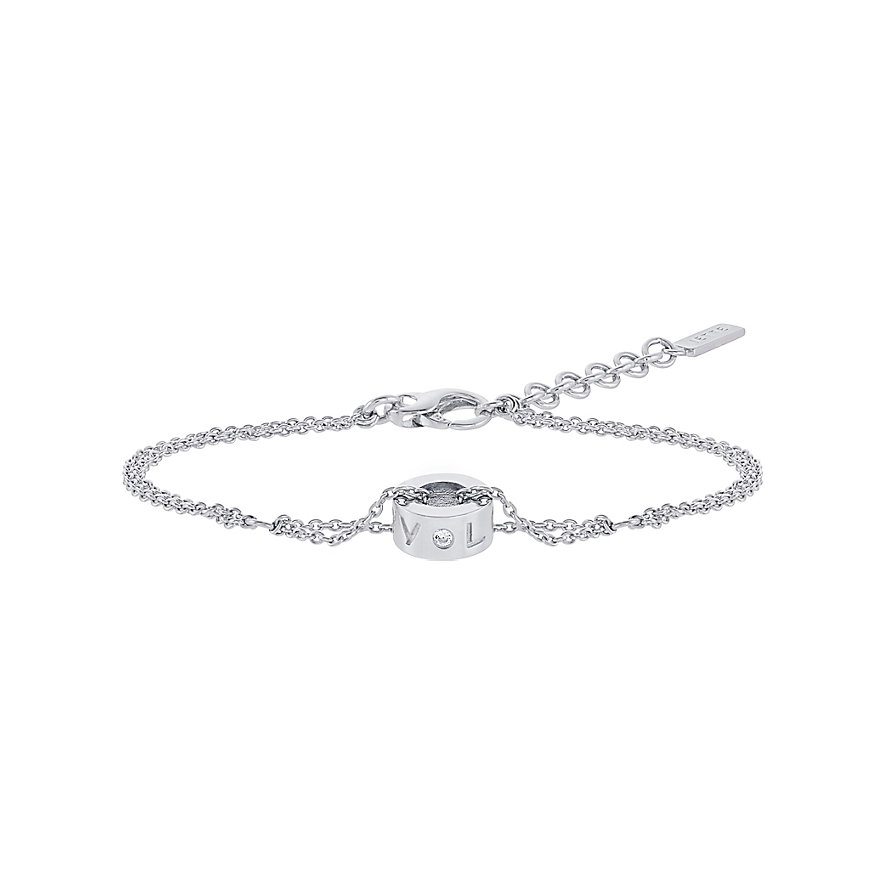 JETTE Silver Armband My Love 86952688