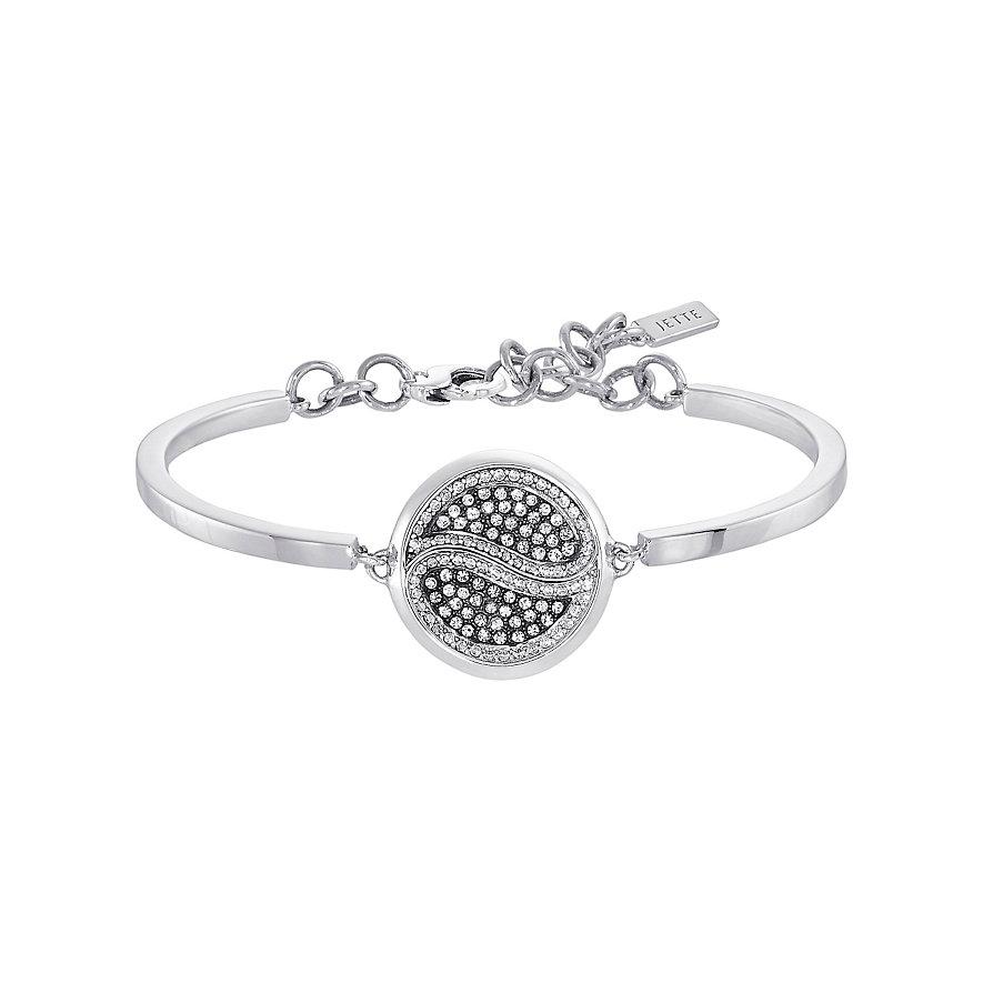 JETTE Silver Armband Ying & Yang 87009386