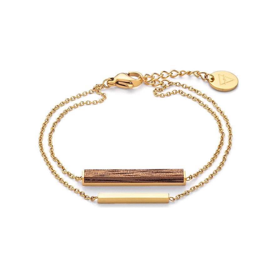 Kerbholz Armband Walnut GEOREC8170