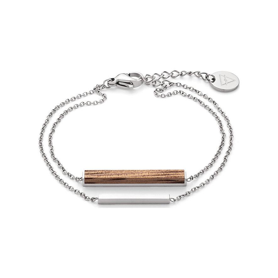 Kerbholz Armband Walnut GEOREC8958