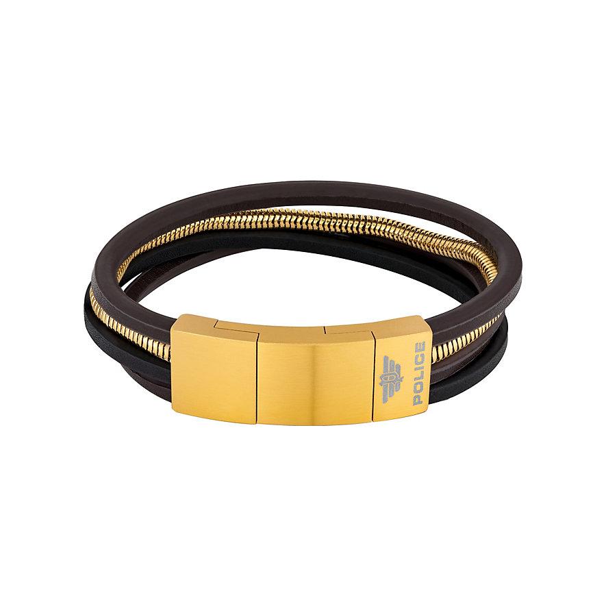 Police Armband PJ26551BSG.02