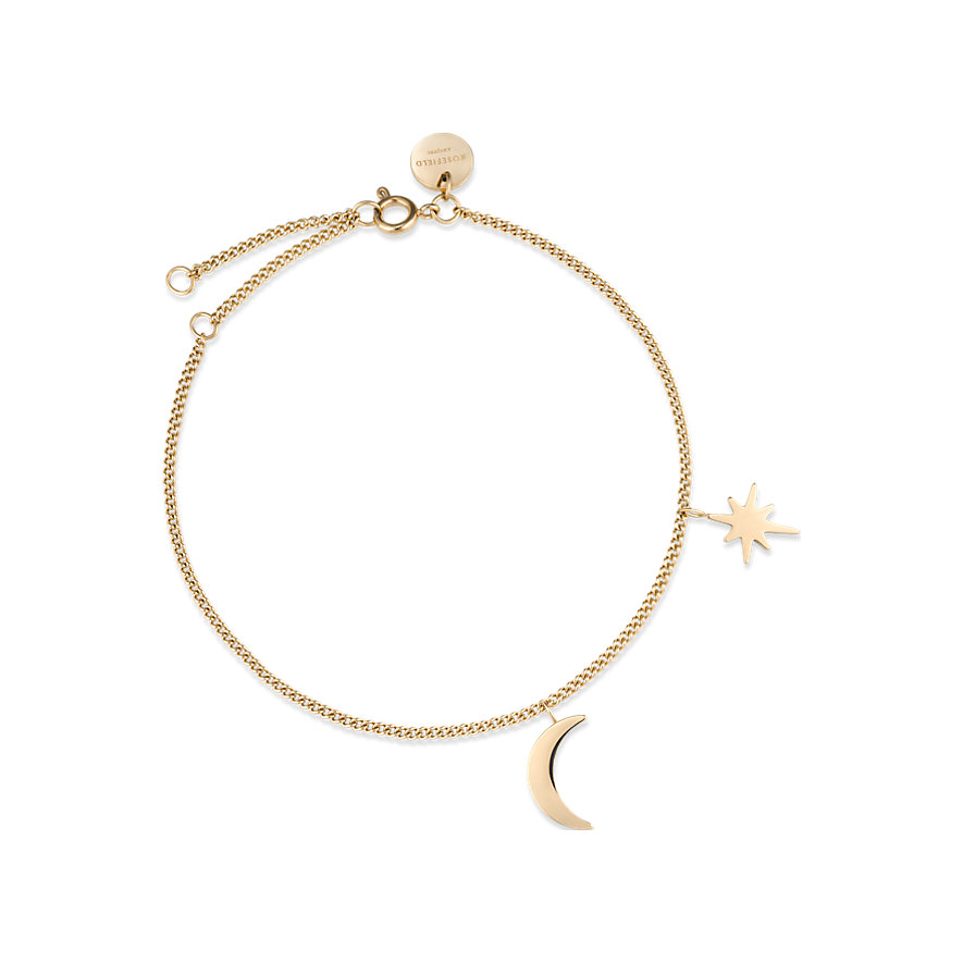 Rosefield Armband Moon And Star MSBG-J234