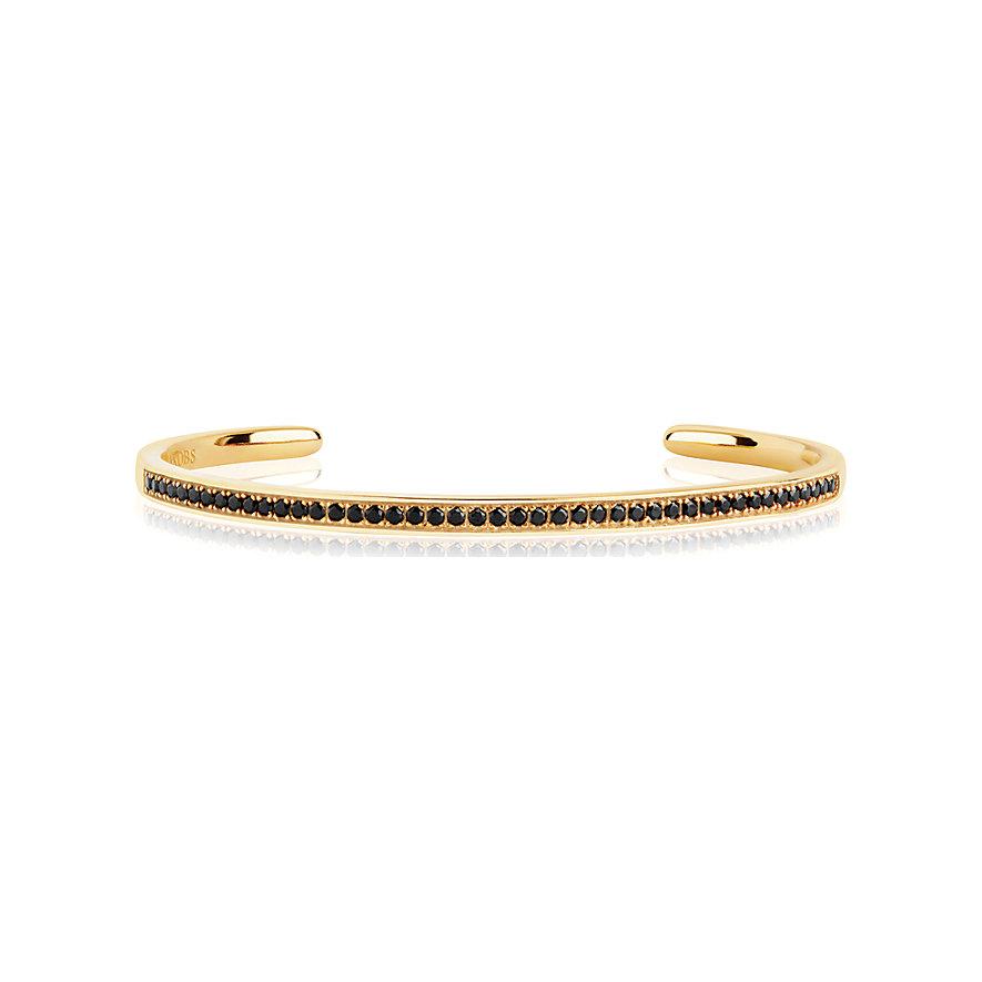Sif Jakobs Jewellery Armreif SJ-BG009-BK-YG