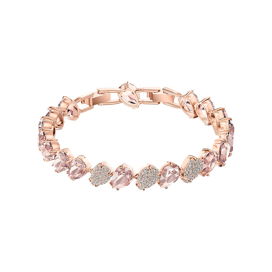 Swarovski Armband Mix Armband Rosa Ros Vergoldun 5427973