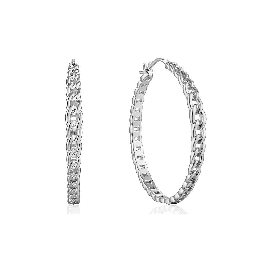 Ania Haie Creole Curb Chain Hoop Earrigs E021-06H