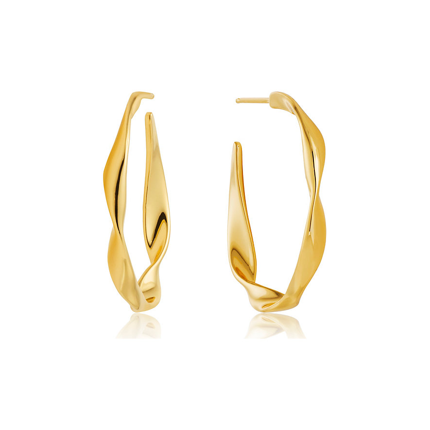 Ania Haie Creole Twist Hoop Earrings E012-04G