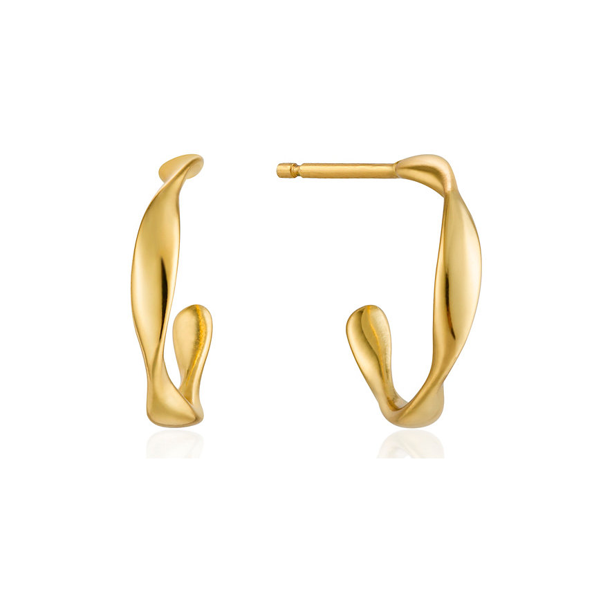 Ania Haie Creole Twist Mini Hoop Earrings E015-01G