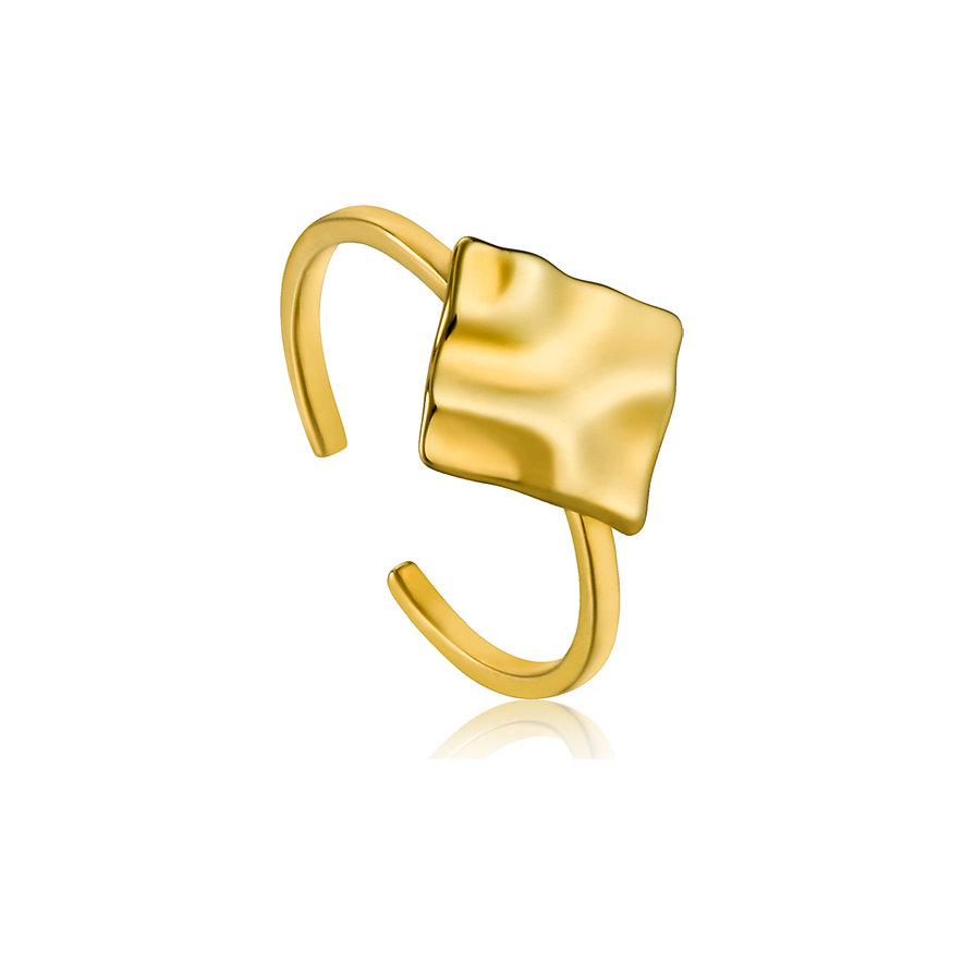 Ania Haie Damenring Crush Square Adjustable Ring R017-02G