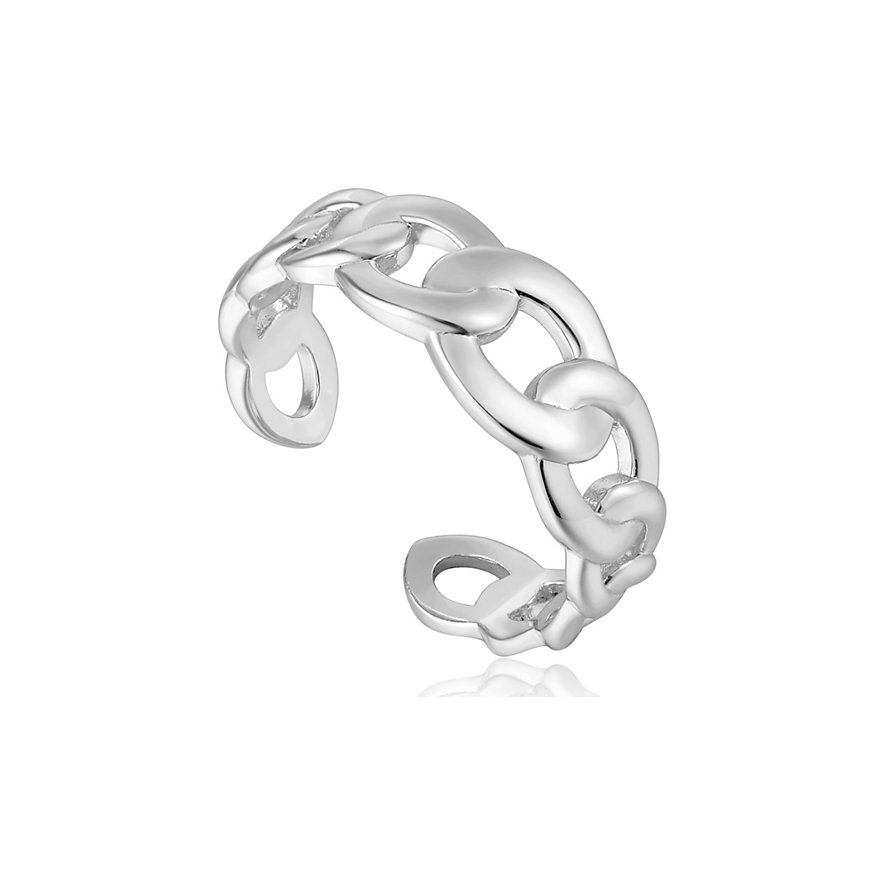 Ania Haie Damenring Curb Chain Adjustable Ring R021-01H