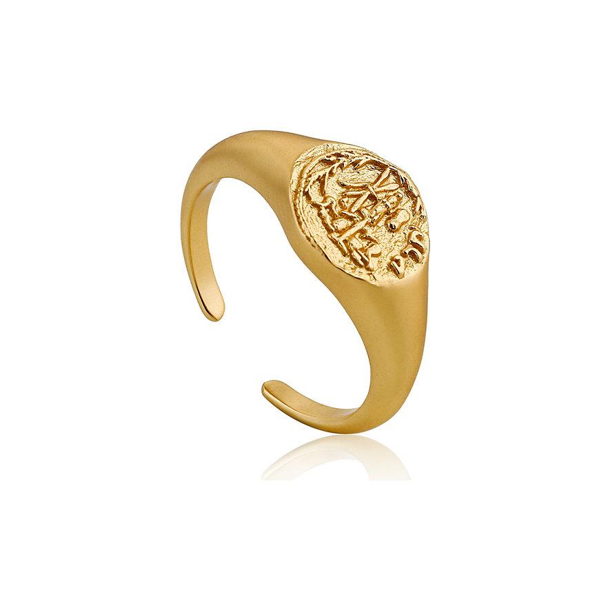Ania Haie Damenring Emblem Adjustable Signet Ring R009-03G