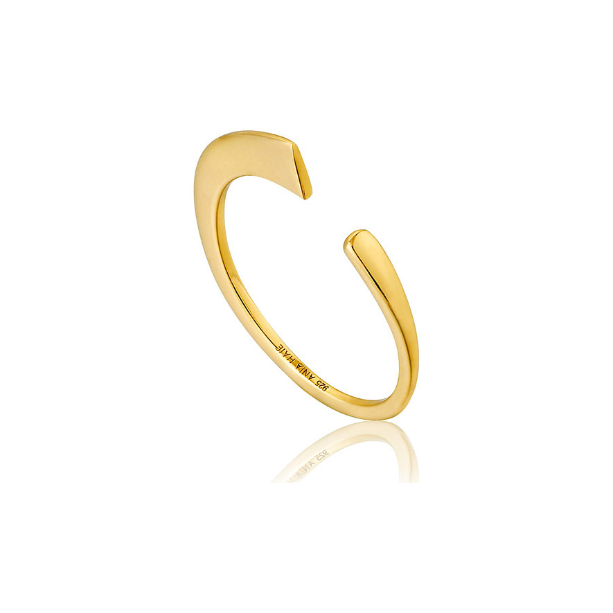Ania Haie Damenring Geometry Curved Adjustable R005-02G