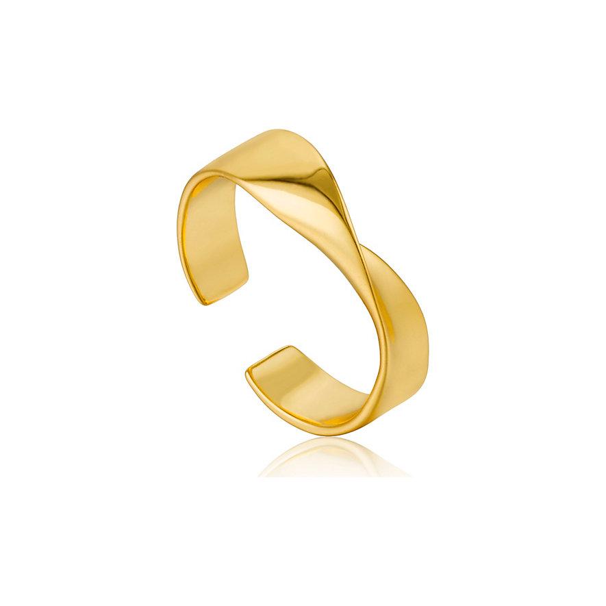 Ania Haie Damenring Helix Adjustable Ring R012-01G