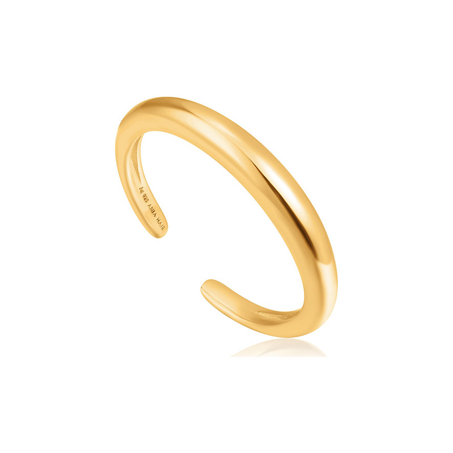 Ania Haie Damenring Luxe Band Adjustable Ring R024-01G