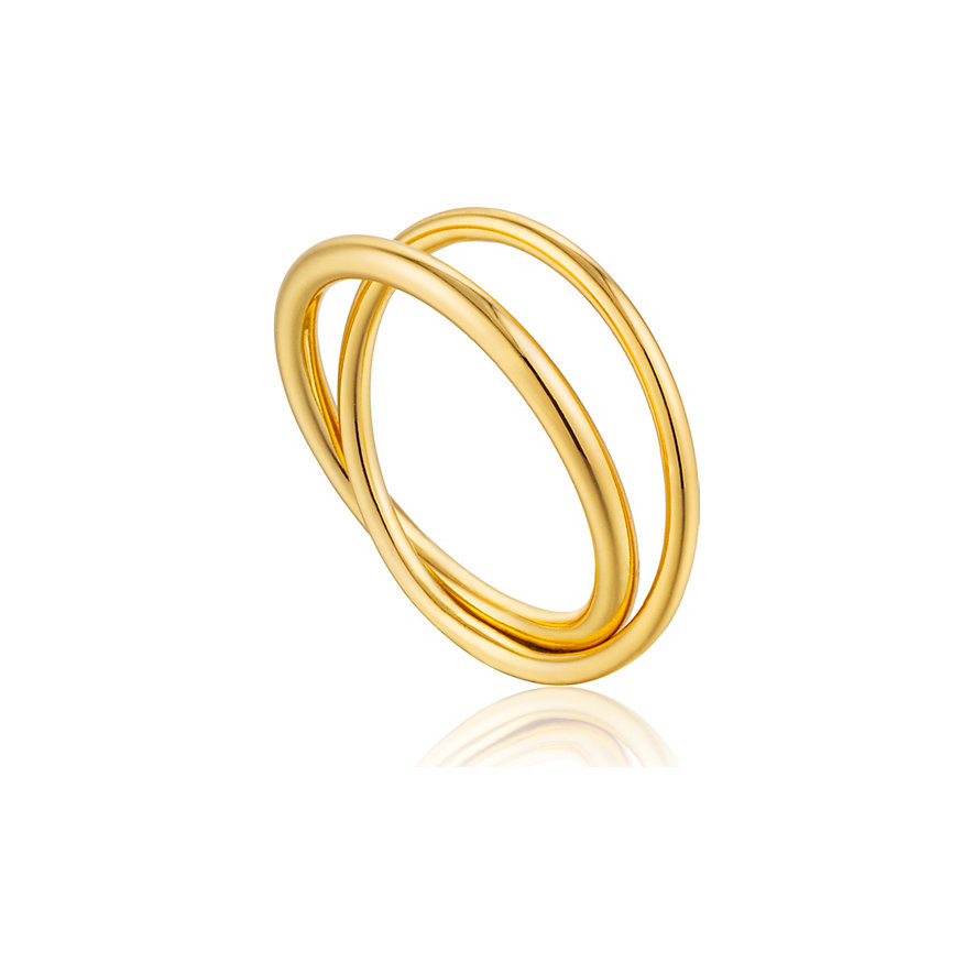 Ania Haie Damenring Modern Double Wrap Ring R002-01G