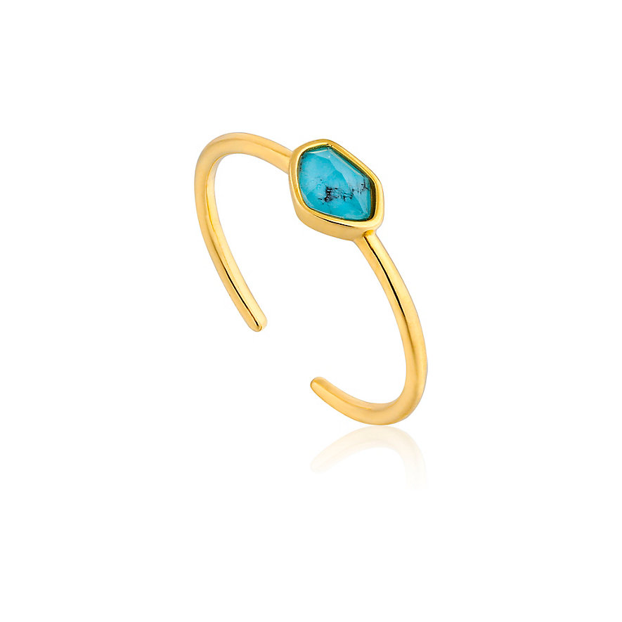 Ania Haie Damenring Turquoise Adustable Ring R014-01G