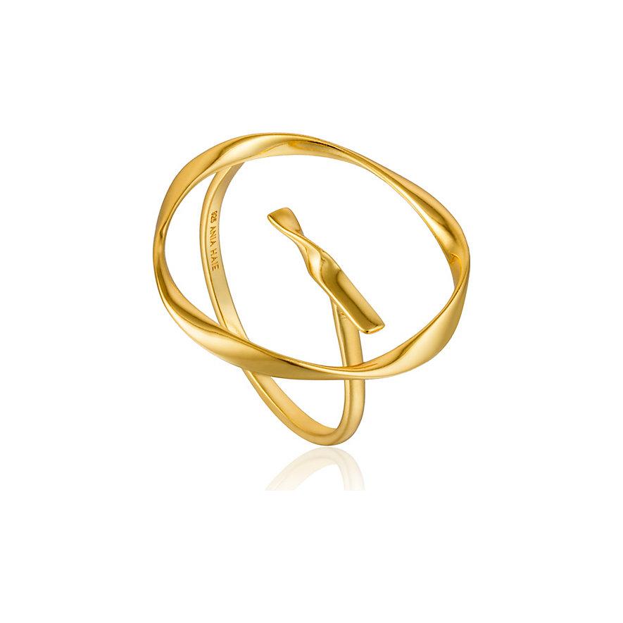 Ania Haie Damenring Twist Circle Adjustable Ring R015-01G