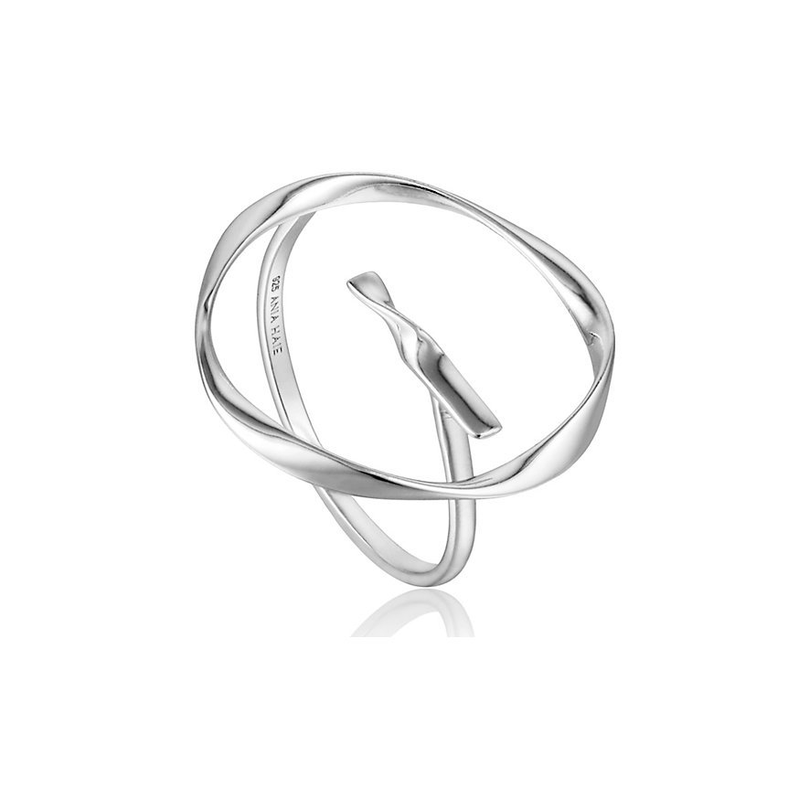 Ania Haie Damenring Twist Circle Adjustable Ring R015-01H