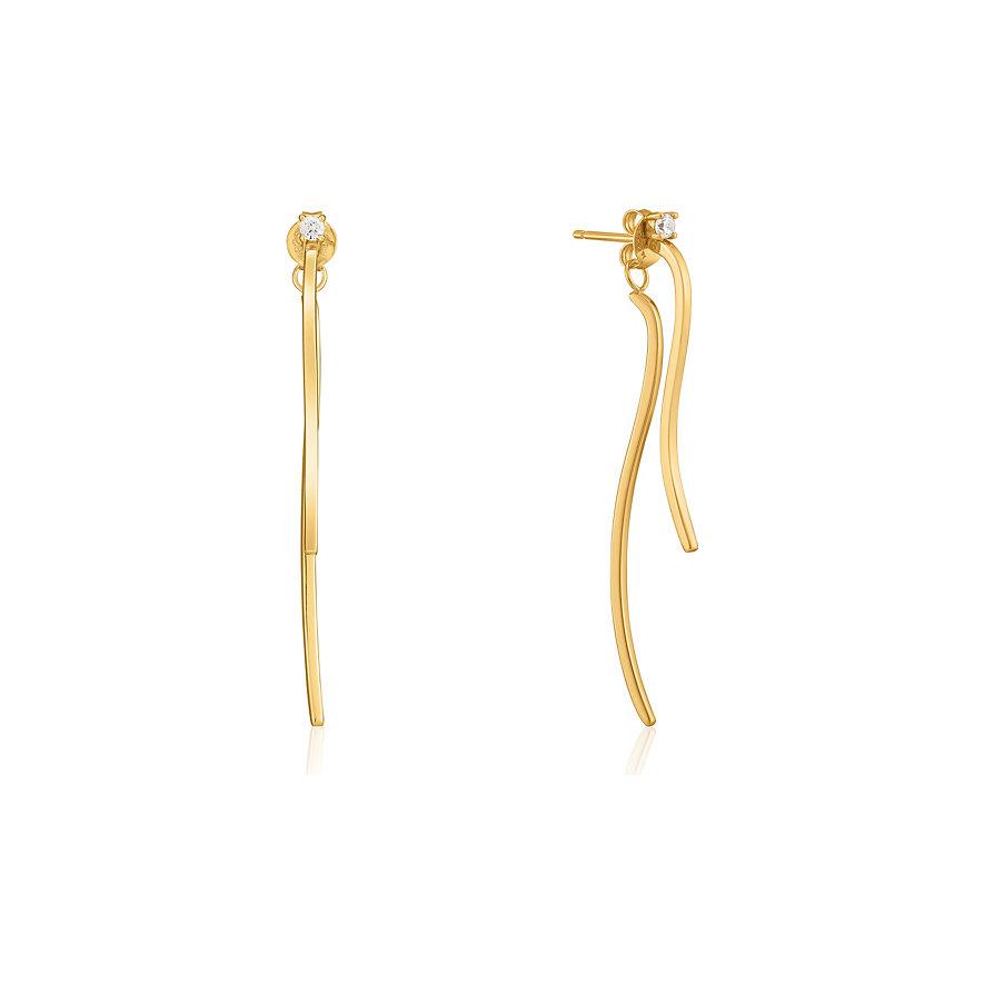 Ania Haie Ohrhänger Curve Drop Bar Ear Jackets E023-18G