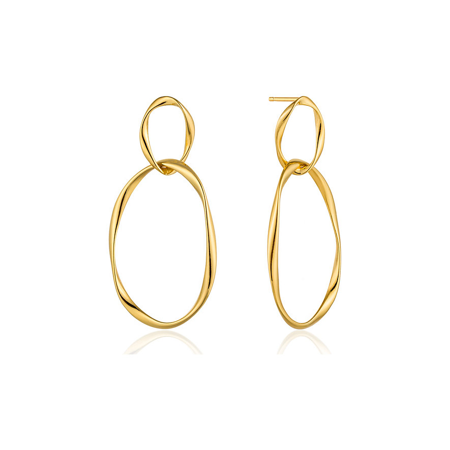 Ania Haie Ohrhänger Swirl Nexus Earrings E015-02G