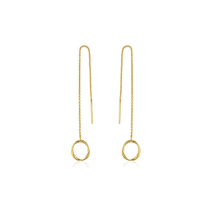 Ania Haie Ohrhänger Swirl Threader Earrings E015-03G
