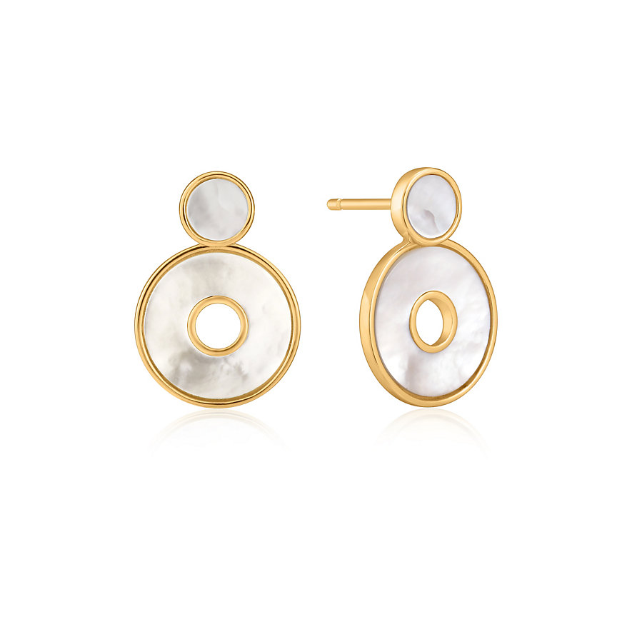 Ania Haie Ohrstecker Mother Of Pearl Disc E022-03G