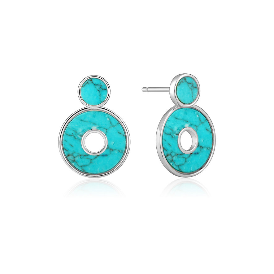 Ania Haie Ohrstecker Turquoise Disc E022-03H