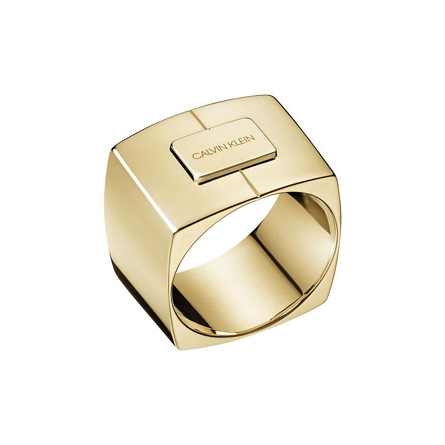 Calvin Klein Damenring Assertive KJAHJR100106