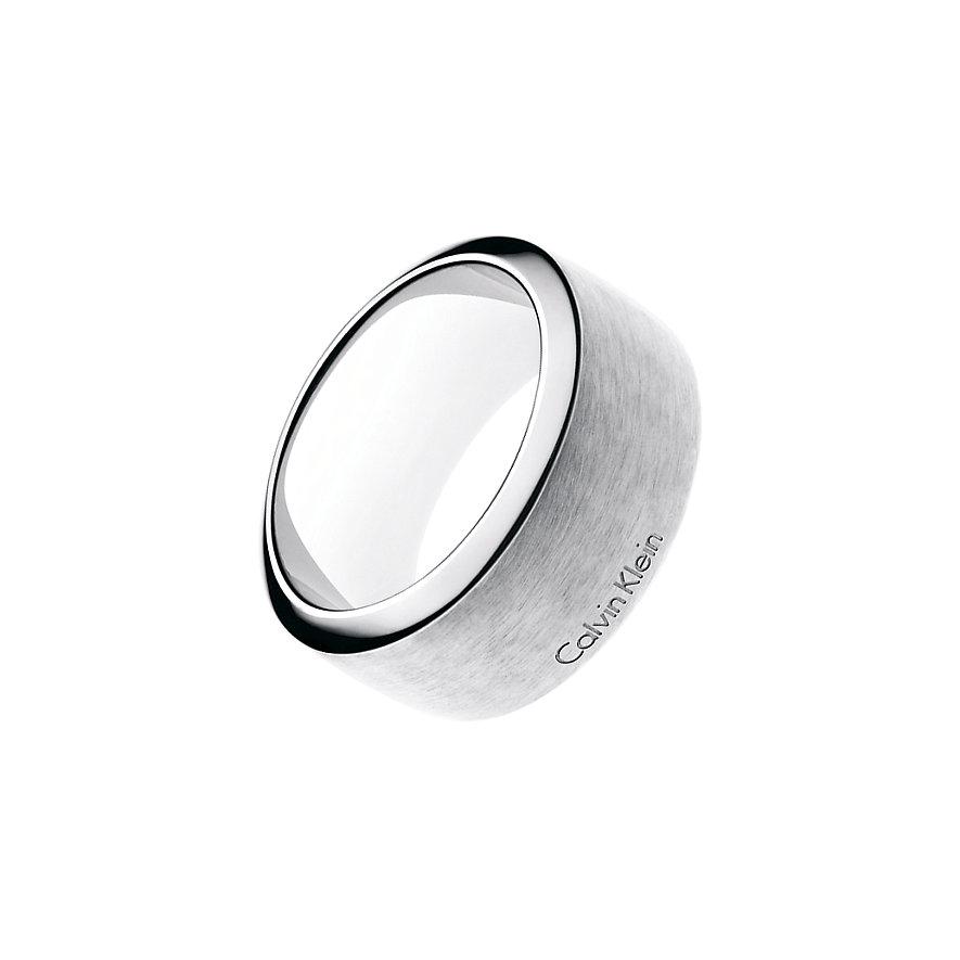Calvin Klein Herrenring Straight KJ0QMR080111