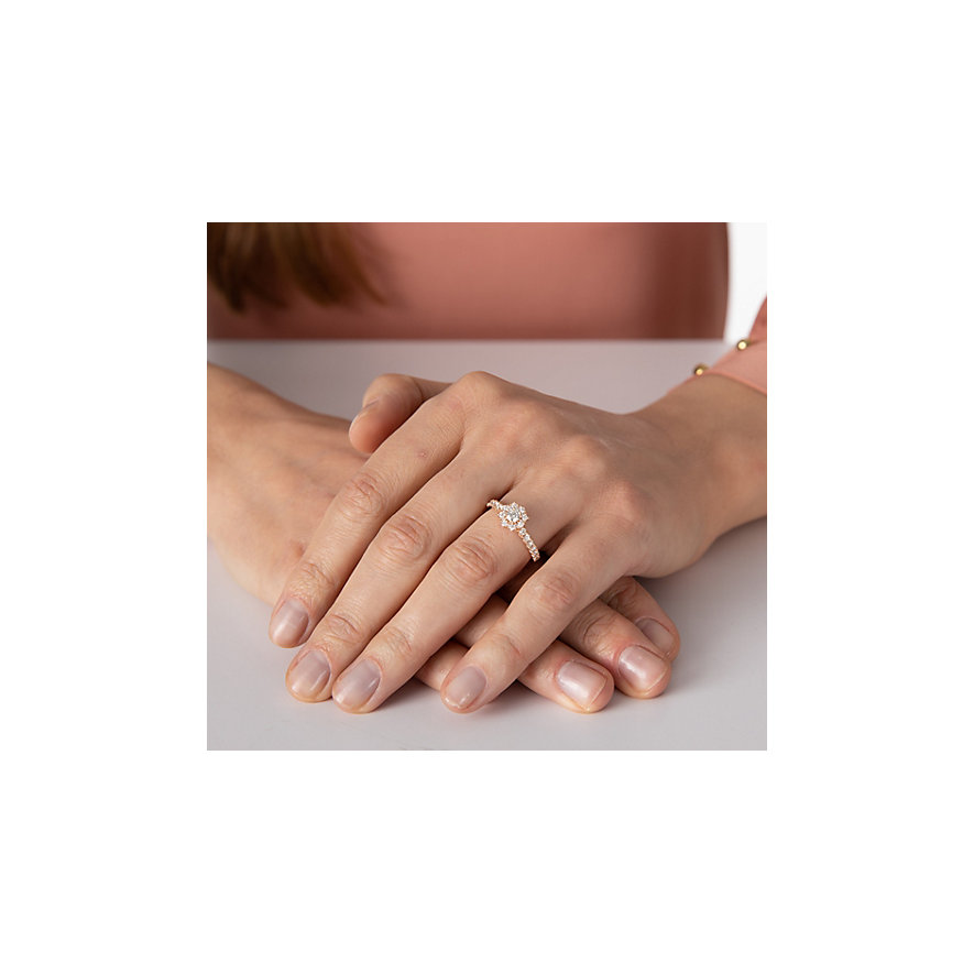 CHRIST Damenring Highlight Ring