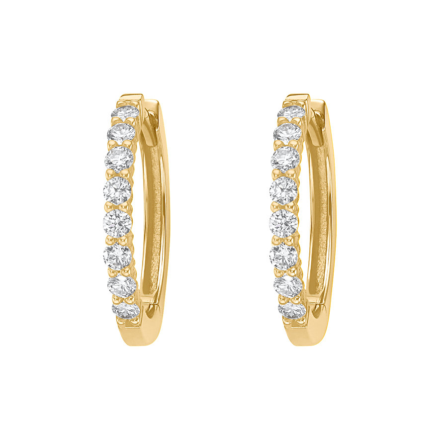 CHRIST Diamonds Creolen 86260077