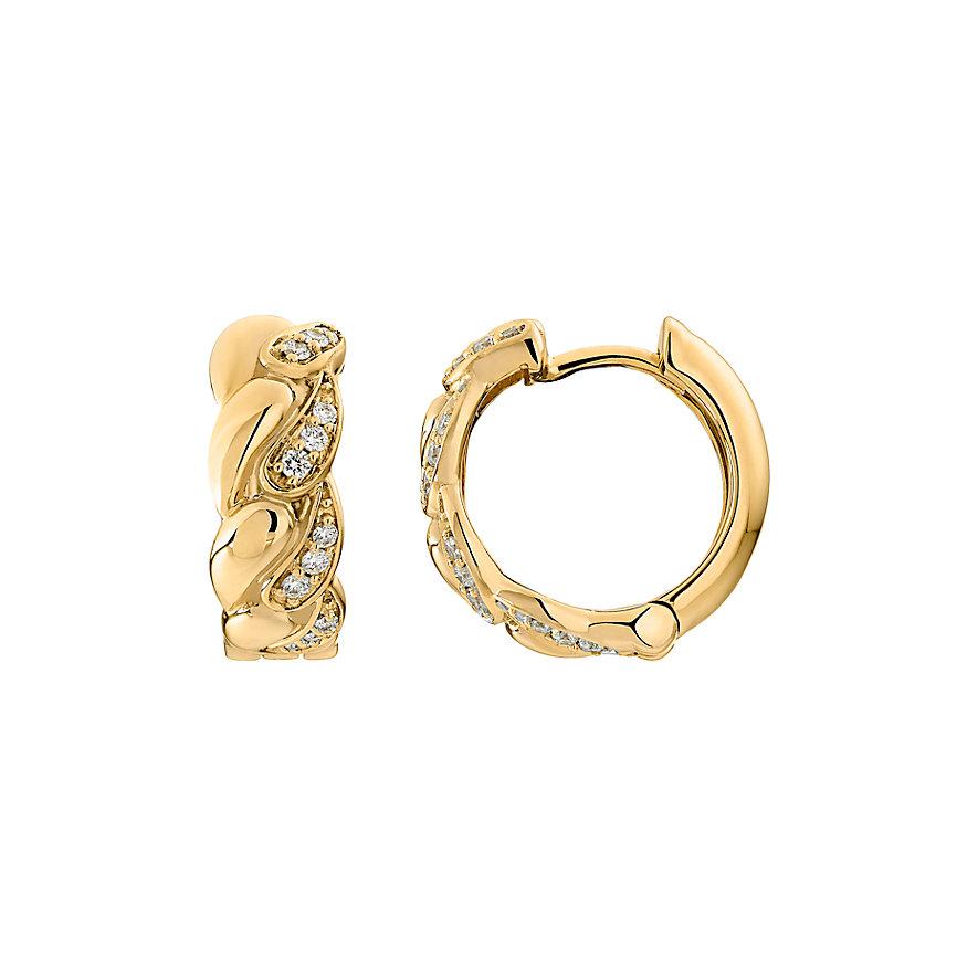 CHRIST Diamonds Creolen 87490271
