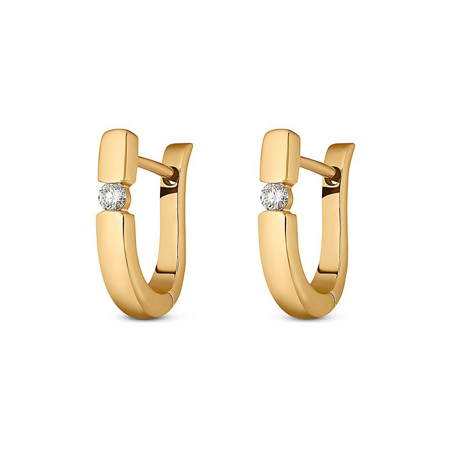 CHRIST Diamonds Creolen 87992535